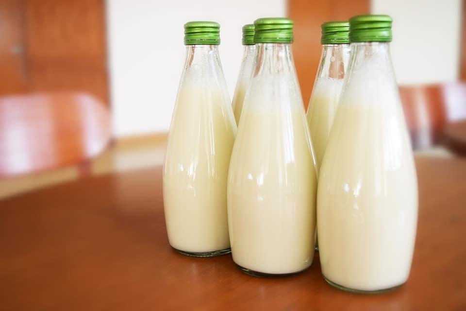 Молоко при похмелье