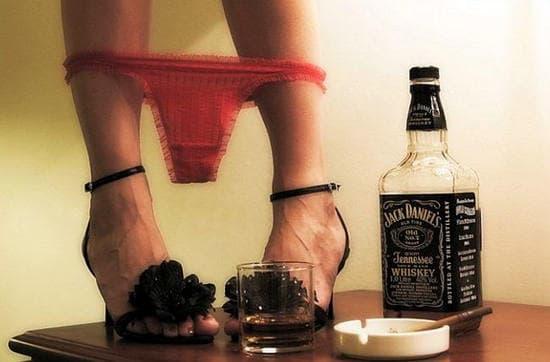 Алкоголь и секс, влияние алкоголя на секс