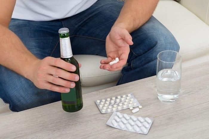 Алкоголь и Андипал несовместимы