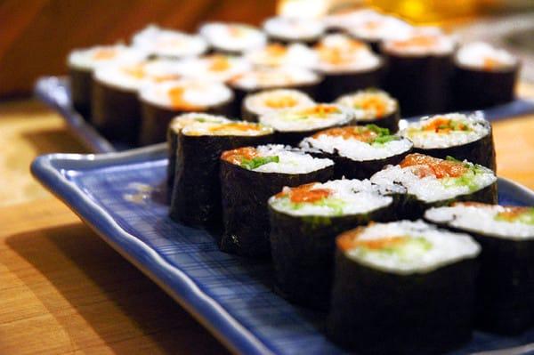 Японская кухня - роллы и суши