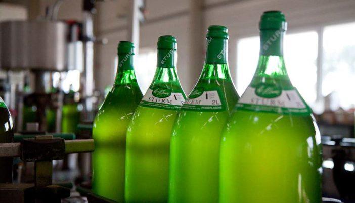 Австрийский алкогольный напиток штурм