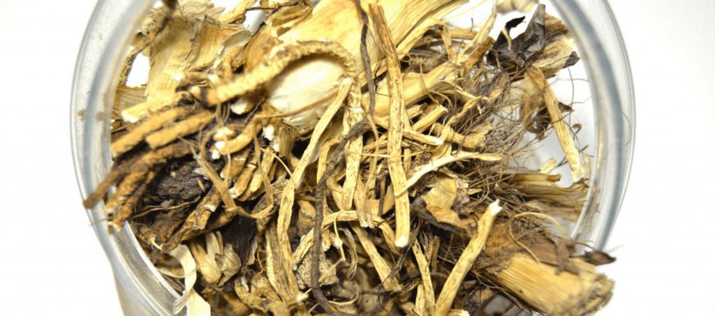 Сушеные корни чемерицы (кукольника)