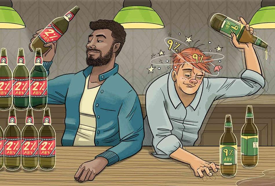 сколько градусов в безалкогольном пиве
