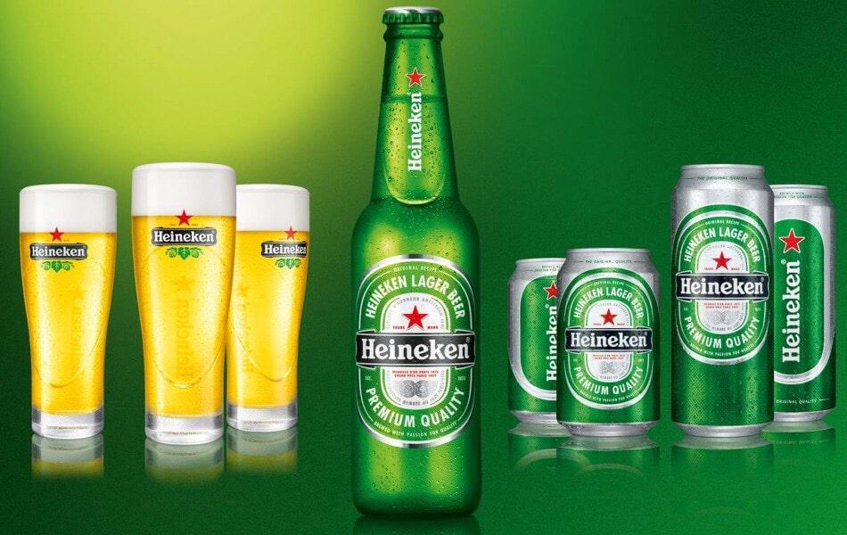 Пиво Хайнекен сколько градусов состав