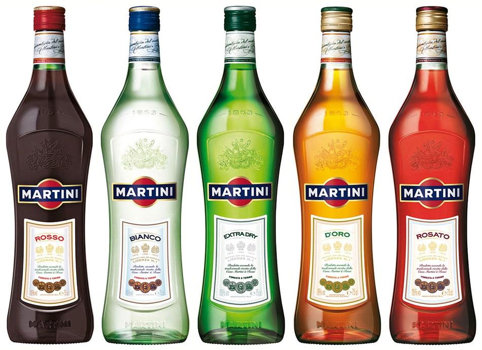 С чем пить мартини правильно