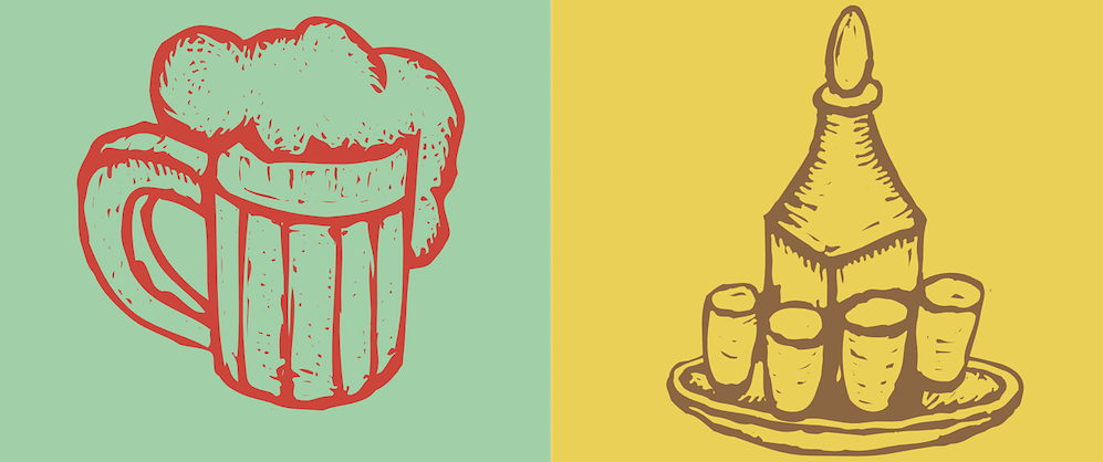 Пиво или водка?