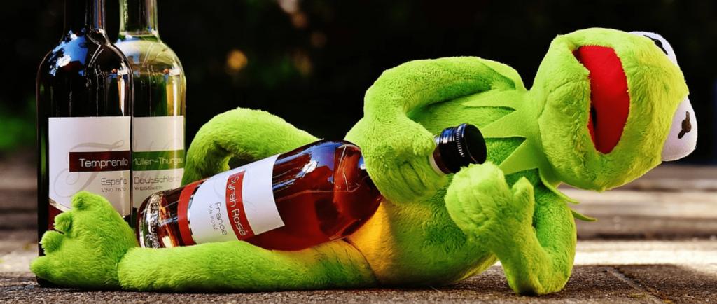 Сон с алкоголем