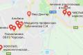 Карта клиник от алкоголизма в Курске